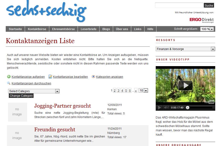 Partnersuche in Wien - Seite 24 - Kontaktanzeigen und Singles ab 50