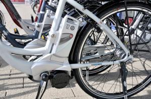 Begeistern von Anfang an mit einem Wow-Effekt: E-Bikes. Foto: epd