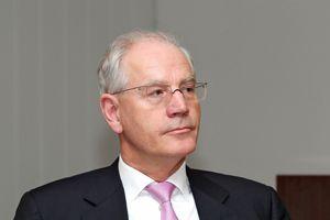 Der amtierende Oberbürgermeister von Erlangen, Dr. Siegfried Balleis. war mit den Fortschritten inder Seniorenpolitik zufrieden. Foto: Mile Cindric