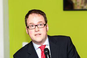 Dr. Florian Janik möchte in Erlangen Oberbürgermeister werden. Foto: Mile Cindric