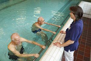 Mit Physiotherapie wieder zurück ins Leben. Foto: epd