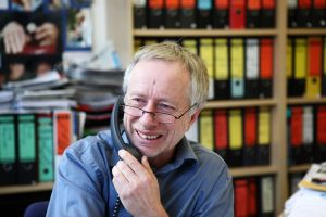 Mit dem deutschen Fairness-Preis wird die Leistung von Pflegekritiker Claus Fussek gewürdigt. Foto: epd