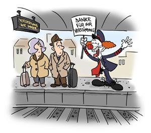 Cartoon: Sebastian Haug