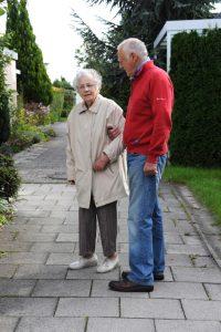 Pflegebedürftige Angehörige auf Reisen
