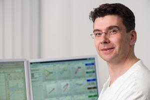 Christian Stump von der Uni Erlangen im Inteview. Foto: Cindric