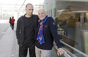 Adalbert Ruschel (rechts) hat mit seinem Sohn Tobias viel Zeit verbracht, als dieser klein war. Foto: Michael Matejka