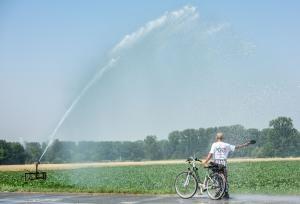 Abkühlung tut an heißen Sommertagen not. Foto: epd / Thomas Lohnes