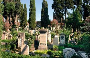 Protestantischer Friedhof in Rom. Foto: epd