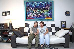 Für Charus und Rosemarie Chaipaet sind die Tage in Franken gezählt. Sie wagen in seiner Heimat Thailand einen gemeinsamen Neuanfang. Foto: Michael Matejka