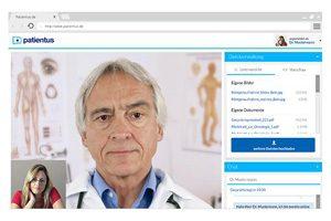 So sieht ein Patientengespräch bei Patientus aus. Foto: Patientus/OpenPR.de